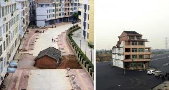 kleine Hausbesitzer gegen große Baulöwen: 13 Häuser die Widerstand leisten