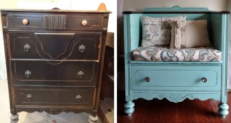 15 ideas para transformar viejos muebles: el resultado es irreconocible!