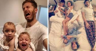 Een Vader Maakt Foto's Van Zijn Dagelijkse Leven En 4 Kinderen. Het Eindresultaat Is Hartverwarmend