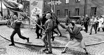 La donna che colpì un nazista con la borsa: uno scatto storico dai retroscena drammatici