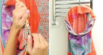 Zo maak je van je oude kussensloop een handige waszak! :-)