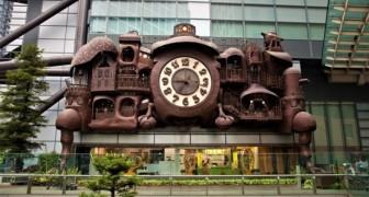 Scoprite il fantastico orologio gigante dello Studio d'animazione Ghibli... rimarrete colpiti!