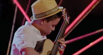 His guitar playing is phenomenal! Check it out!
