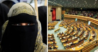 Il parlamento olandese ha votato: vietato il burka nei luoghi pubblici