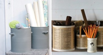 Fantastiche idee per riciclare i barattoli di latta e dare un tocco di originalità alla propria casa