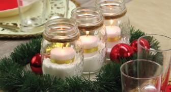 Enfeite para mesa com velas: como fazer uma decoração simples e bonita!