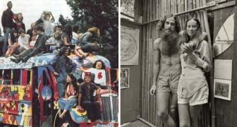 Le comunità hippy degli anni '70: ecco 14 foto che vi apriranno gli occhi