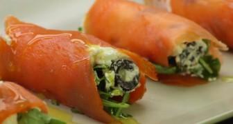 Rolinhos de salmão: uma entrada gostosa e rápida de preparar!