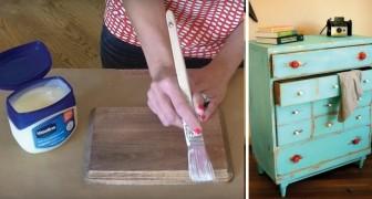 Voici une astuce simple pour réaliser un effet vintage au bois