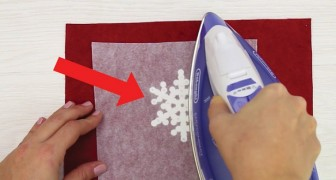Make perfect snowflakes with an iron?! Yes!