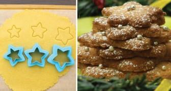 Biscochos de pasta frola con forma de estrellas: luego de la cena el plato perfecto para todas las ocasiones