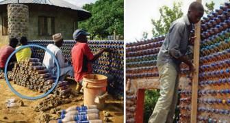 Maison à base de plastique et de boue: la solution anti-sismique, anti-incendie et écologique