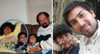 La madre lo aveva abbandonato per tornare nella tribù natia: dopo 20 anni lui la ritrova