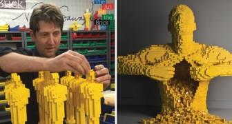 Il renonce à sa carrière d'avocat pour faire des sculptures en Lego: il devient une star internationale!