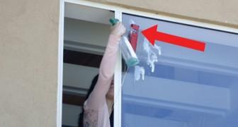 Vous habitez à un étage élevé et vous devez nettoyer les vitres ? Voici comment faire en toute facilité et... sécurité !