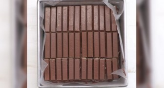 Cubre el molde de Kit Kat: cuando descubran el relleno no podran resistir a la tentacion!