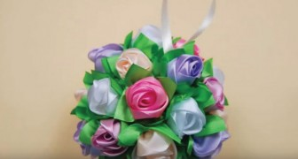 Bouquet de rosas hechos a mano: asi es como se realiza paso a paso con toda simplicidad