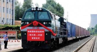 Dalla Cina a Londra in 18 giorni: ecco la nuova tratta ferroviaria destinata al trasporto di merci
