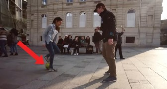 You have never seen freestyle street soccer skills like THIS!