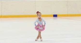 This determined little 3-year-old ice skater will warm your heart ...