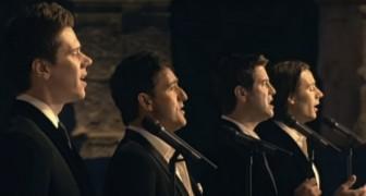 Dit lied wordt gezongen sinds 1800: de versie van dit kwartet brengt tranen in je ogen
