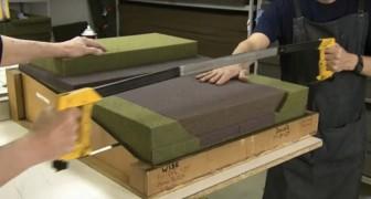 Voici l'incroyable processus de fabrication des fauteuils d'avion de première classe