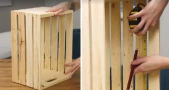 De cajones de madera a muebles para el salon: pocos pasos y dispondran de un objeto util y bello