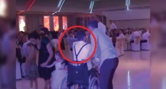 Hij raakte verlamd bij een auto-ongeluk, maar op de bruiloft van zijn zus heeft hij voor iedereen een verrassing in petto!
