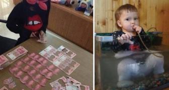 Wenn unschuldige Kinder kleine Katastrophen veranstalten...