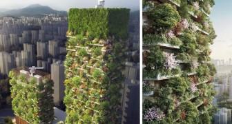 Les premières forêts verticales asiatiques prennent place: voici le projet