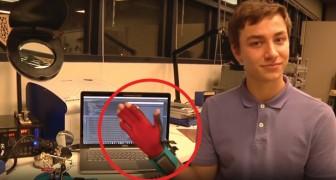 Convertir la lengua de las señas en palabras: este guante especial lo hace posible