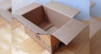 Come trasformare una semplice scatola di cartone in un oggetto perfetto per il vostro bagno