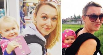 Elle profite du congé de maternité pour parcourir le monde avec sa fille: son carnet de voyage est incroyable
