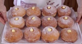 Beignets à la crème faits maison: comme ceux de la pâtisserie voire même encore plus bons!