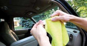 Saubere Autofenster mit diesen Schritten: Kristallklar!