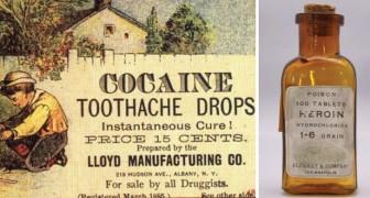13 publicités de drogues dures qui autrefois étaient utilisées comme médicament