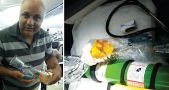 Attacco di asma in volo e nessun inalatore: questo medico salva un bambino COSTRUENDONE uno