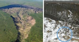 Un cratère en Sibérie qui grandit à une vitesse disproportionnée: la triste vérité derrière La porte des enfers