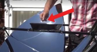 Keine Kohle und kein Gas, hier die Erfindung um draußen NUR mit Sonnenenergie zu kochen