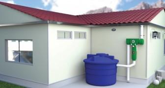 Transformar el agua de lluvia en potable: el invento que permite de acumular hasta 15.000 litros
