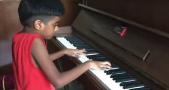 A five-year-old Indian boy plays Chopin like a Master!
