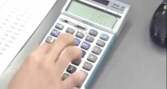 Ninguna usa la calculadora como los japoneses: estan en grado de hacerlo mejor?