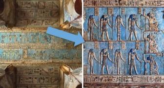 Après des milliers d'années, l'un des temples les mieux conservés de l'Egypte ancienne brille à nouveau