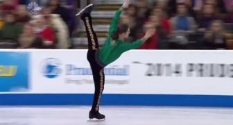 Patinaje sobre hielo y la mejor exhibicion