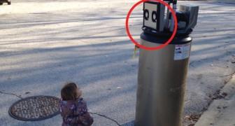 Una bambina e un Robot: il tentativo di fare amicizia non poteva essere più dolce
