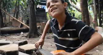 Este menino cego é um pequeno grande talento: a sua exibição vai te fazer sorrir!