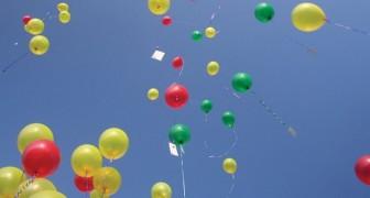 La raison pour laquelle vous ne devriez jamais lâcher des ballons dans le ciel? Vous n'y aviez jamais pensé