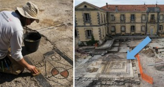 De Romeinse stad Ucetia is ontdekt in Zuid-Frankrijk. De mozaïeken getuigen van diens schoonheid