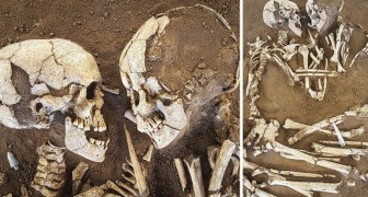 Questa coppia di scheletri si abbraccia da ben 6000 anni: un autentico esempio di amore eterno