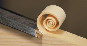 Het tot stand komen van deze Fibonacci spiraal werkt uitermate ontspannen!